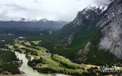 Banff National Park, Canada by Janjua