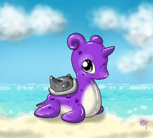 Baby Shiny Lapras by PsychoBerries