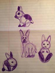 ??? Rabbit by Hawkstar915