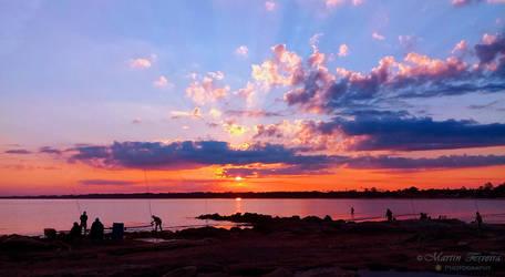 Sunset by NitramX