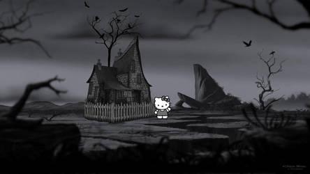 Kitty Dark Pride Rock by NitramX
