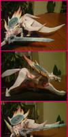 Amaterasu Okami papercraft by Yuki-Myst