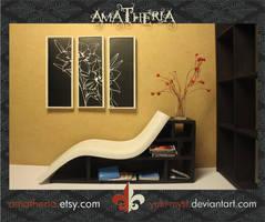 Modern hybrid Chair-bookcase2 by Yuki-Myst