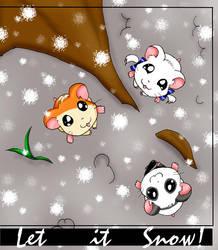 Let it Snow by hamhams