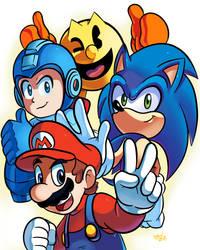 Smash Fighting Mascots by WaniRamirez