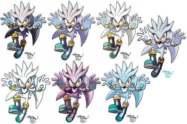 Yardley's Silver the Hedgehog by WaniRamirez