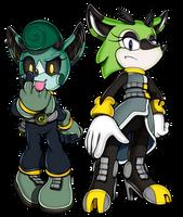 Sonic Channel: CASSIA and CLOVE by WaniRamirez
