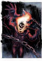 Ghost Rider by John Lucas by SariSariola