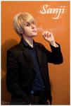 Sanji smoking by Leox90