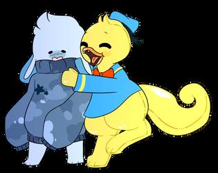 hugs! by creamiteau