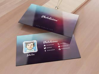 Photographer Business Card by SMHYLMZ