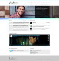 Freshmusic Webdesign by SMHYLMZ