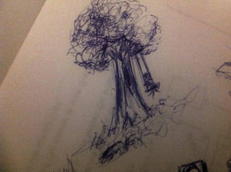 Driving School Sketches 3 'A Generic Tree' by TheVentilationSystem