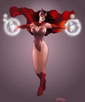 Scarlet Witch by jaxtraw2