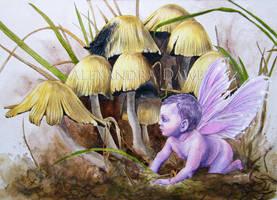 Mushroom Moodle by alexandradawe