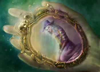 Pocket Mirror by folkvangar