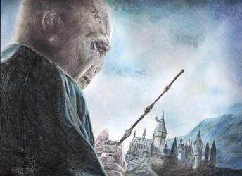 Lord Voldemort by EerieStir