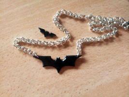 Batman Necklace by EerieStir