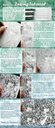 Inking Tutorial by DarkSena