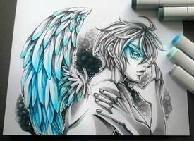 Azure Wings by DarkSena