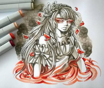 Ruby Sea by DarkSena