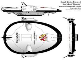 Ship's Boat: Lander and Shuttle Spacecraft by StevoDarkly
