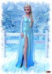 Elsa - Frozen by sodacan