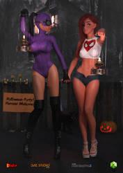 Devon And Skylar's 2018 Halloween Adventure 01 by sodacan