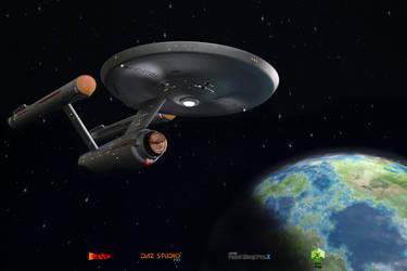 Away Team 05 - The Enterprise Awaits by sodacan