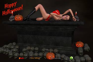 Devon Halloween Vampirella Cosplay by sodacan