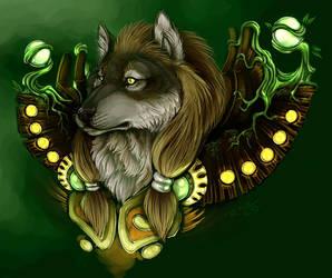 Worgen Druid by jidane