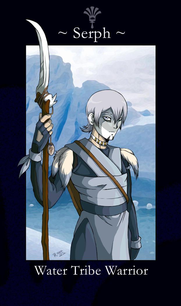 Serph, Water Tribe Warrior by jidane