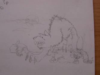 Werewolf by supergalleta