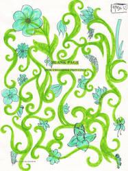 Blue Garden of Boredom by hamnox