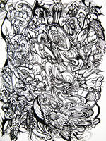 Modern Paisley by wantonlemonade