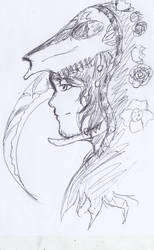 Persona Of Death  inktober by dango117