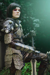Dragonborn - Dragonscale armor by Ravenfromfinland