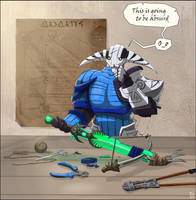 Dota 2 - Sven by Tiny-Tyke