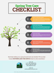 Spring Tree Care Checklist by northernlakestree