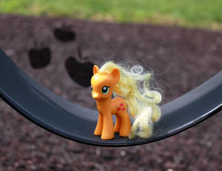 Apple Jack on a Swing by AquilaTEagle