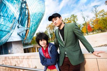 Big Hero 6 - G0LDEN P4IR   Tadashi and Hiro Hamada by TrustOurWorldNow