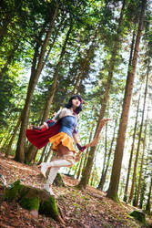 Snow White of 7 Arrows - Fiercest Of Them All by TrustOurWorldNow