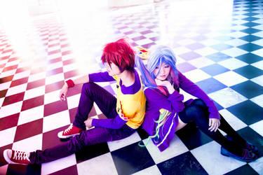 No Game No Life - Our Game   Shiro + Sora by TrustOurWorldNow