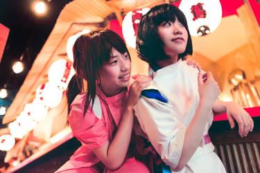 Spirited Away - Midnight Parade   Chihiro + Haku by TrustOurWorldNow