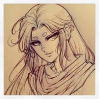 Aries Mu sketch by Lunaris-Eclipse