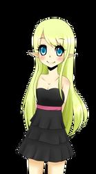 Elf Girl by RainbowSanny