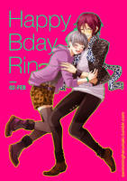 Free! Happy Bday Rin by andys