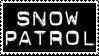 Snow Patrol Stamp by ellie-n