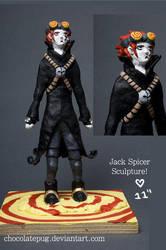 JS Sculpture by ChocolatePug by JackSpicerFans