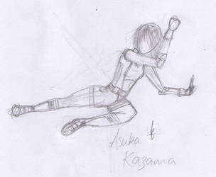 asuka kazama by earthpineapple